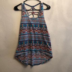 Full Tilt HiLow Tank W/ Cut Back Size M